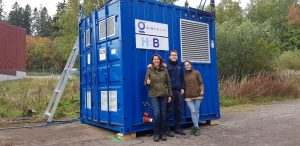 H2B2 has finished the delivery and commissioning of an electrolyser system to VTT Technical Research Centre of Finland Ltd