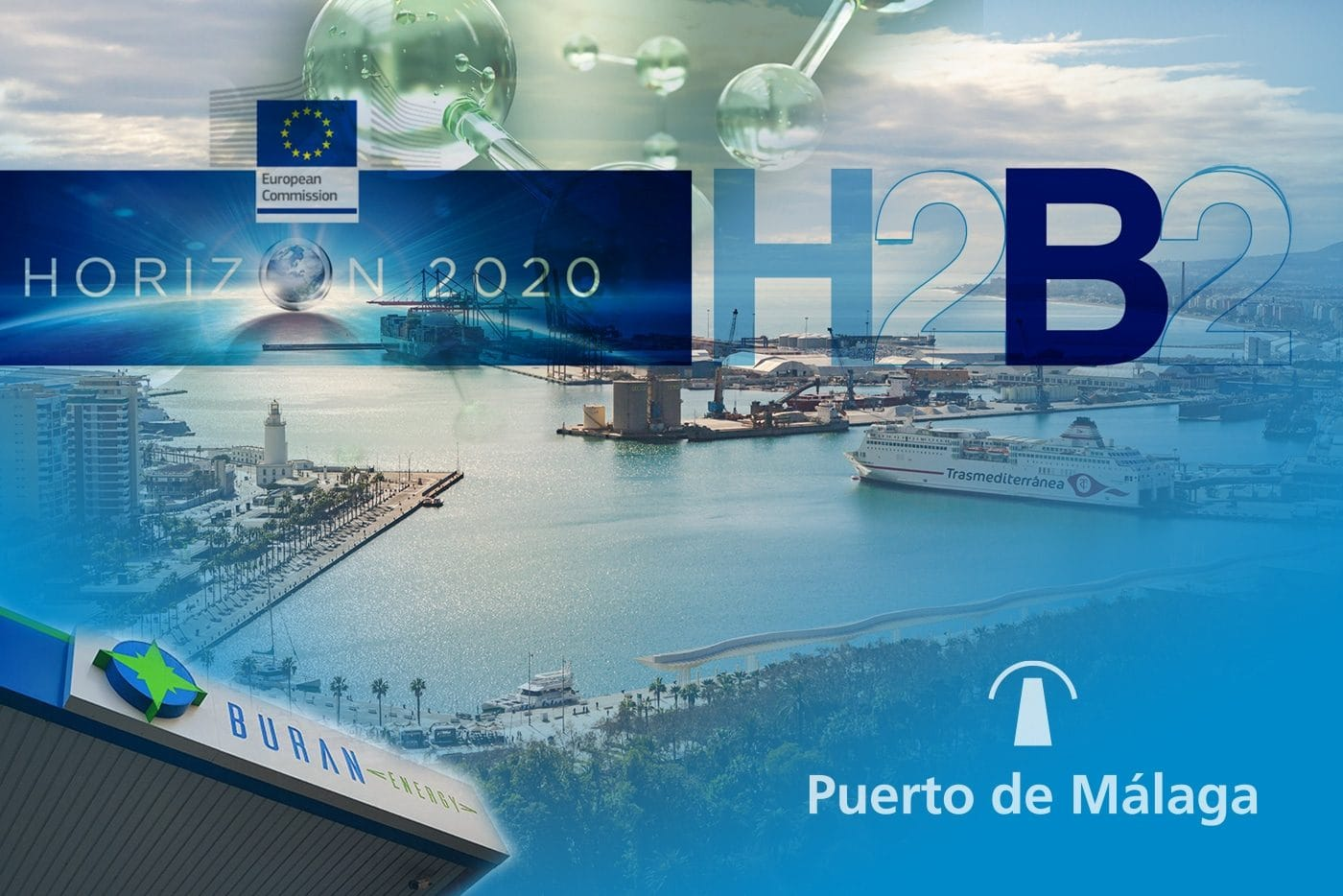 H2B2 participates in the Port of Malaga consortium together with Buran Energy in a commitment to green hydrogen